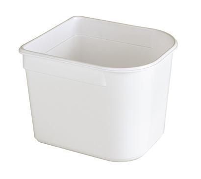 Bac 1/2 vitrine 2,5 litres