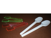 Spatule cristal couleur long, 64 mm